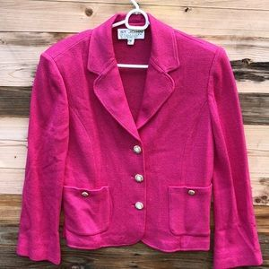 St. John Collection | Pink Button Down Jacket 8